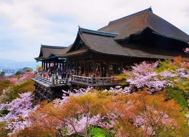 Đền Kiyomizudera - Kyoto