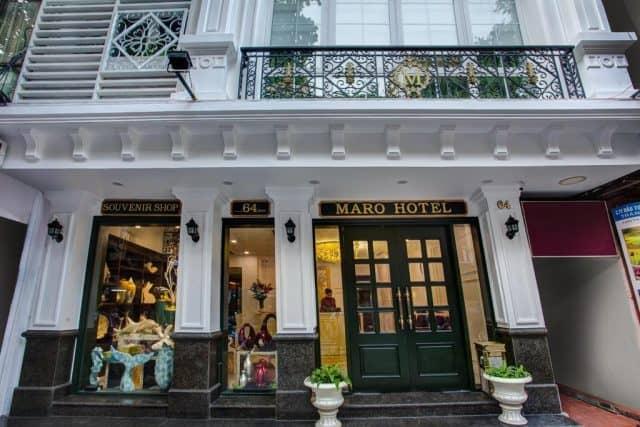 Bề ngoài của khách sạn thiết kế theo phong cách Châu Âu (ảnh ST)
