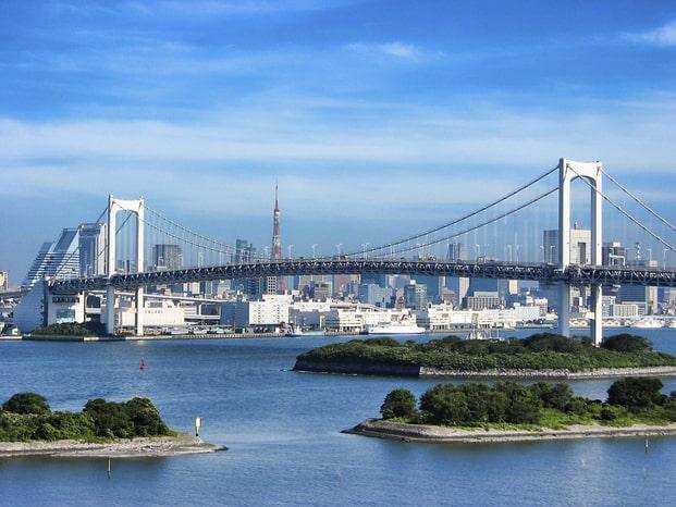 Đảo nhân tạo lớn nhất Nhật Bản (ảnh ST)