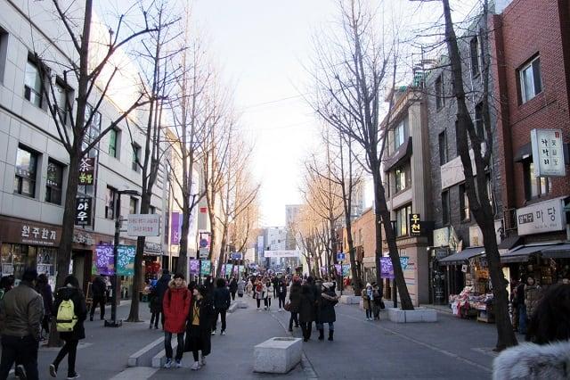 Đay là điểm du lịch Hàn Quốc thu hút được du khách trong và ngoài nước (ảnh ST)