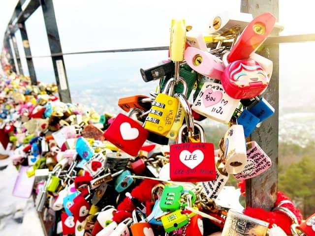 Chiếc chìa khóa biểu tượng cho tình yêu vĩnh cửu (ảnh ST)