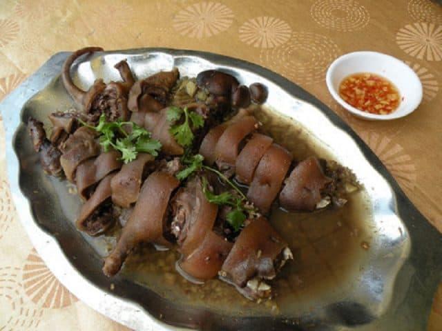 Thịt dúi rừng - đặc sản Thái Nguyên (Ảnh ST)