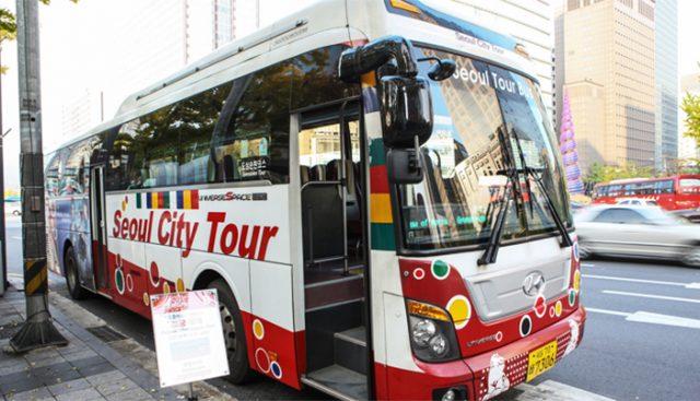 Xe buýt Thăm quan Thành phố Seoul (ảnh ST)
