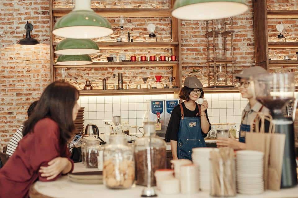 cafe giữa lòng Hà Nội