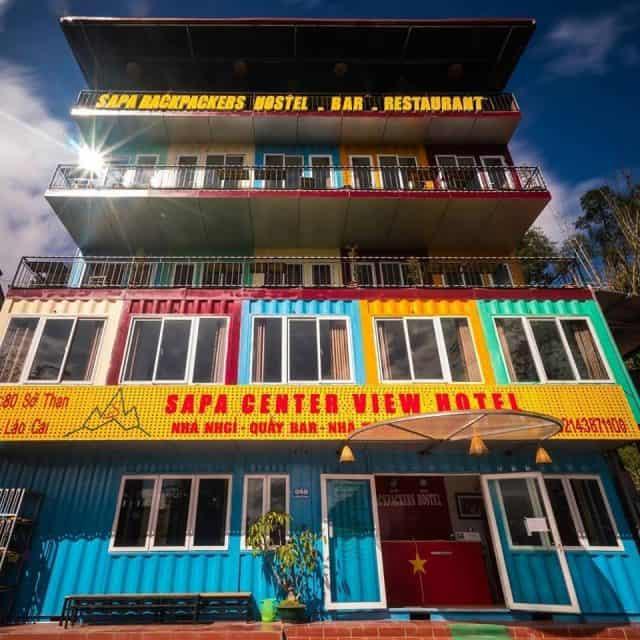 Sapa Centre View kiến trúc lấy cảm hứng từ những container sắc màu