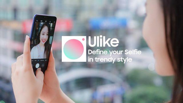 Ứng dụng chụp ảnh đẹp thần thánh Ulike