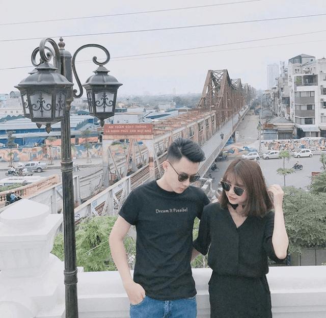 Cầu Long Biên địa điểm hẹn hò lãng mạn của các cặp đôi