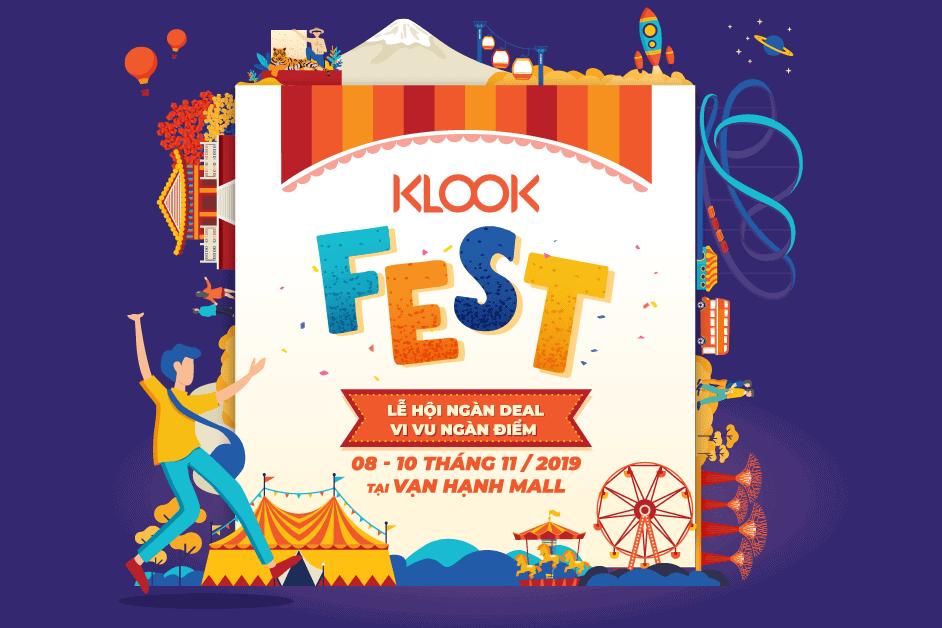 Có gì hay ho ở lễ hội Klook Fest 2019 ở Sài Gòn