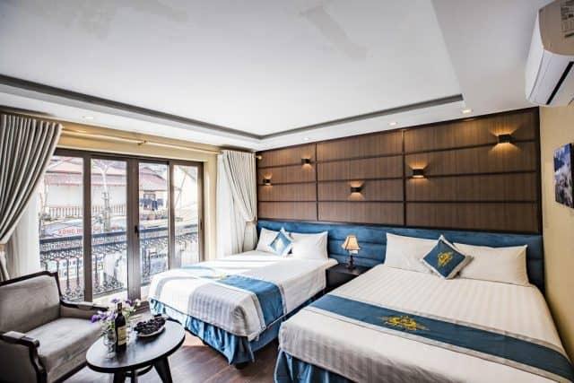 Mimosa Hotel Sapa tinh tế trong từng đường nét thiết kế