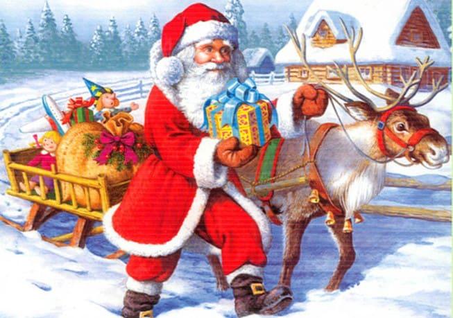 Bộ quần áo đỏ của ông già Noel
