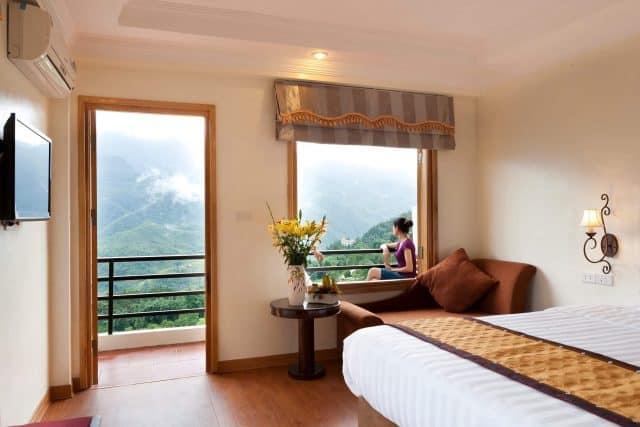 Sapa Eden Mountain View Hotel thật tuyệt vời để ngắm cảnh