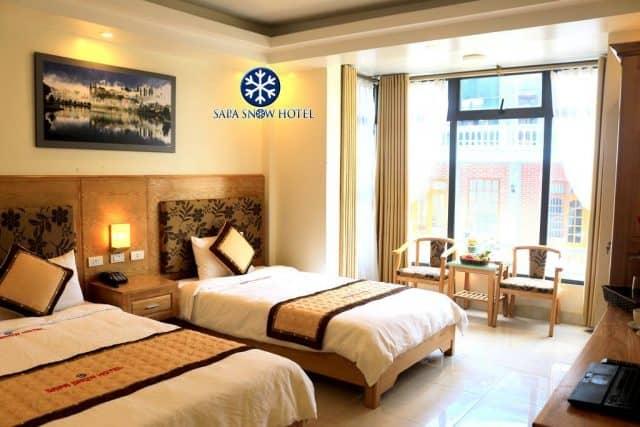 Không gian hết sức ấm cúng của Sapa Snow Hotel
