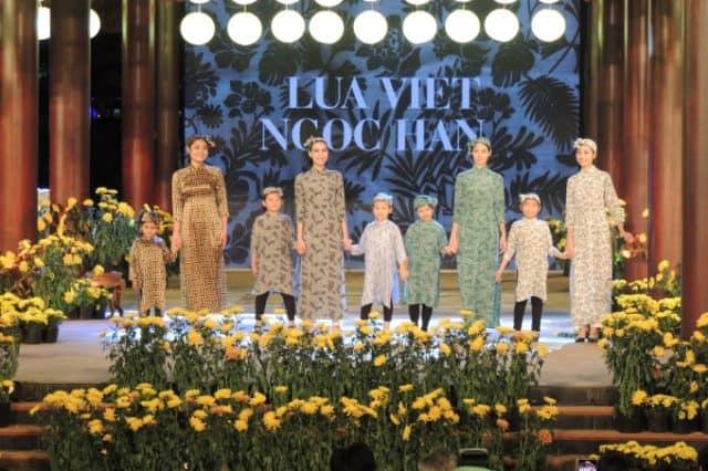 Trình diễn thời trang tơ lụa Bảo Lộc