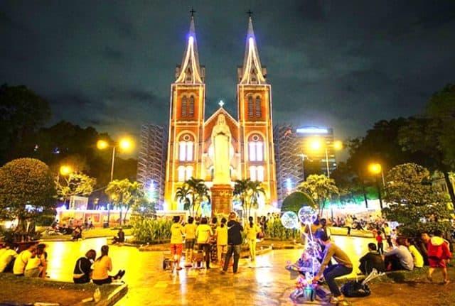 Giáng sinh năm nay đi đâu chơi ở Sài Gòn?