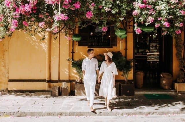 Thành phố Đà Nẵng xinh đẹp là một điểm đến rất thích hợp cho các cặp đôi trong dịp Valentine. Ảnh: Maiwedding