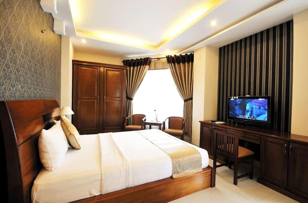 Hotel Bảo Trân 2 gây ấn tượng với khách hàng bởi nội thất sang trọng và đầy đủ tiện nghi