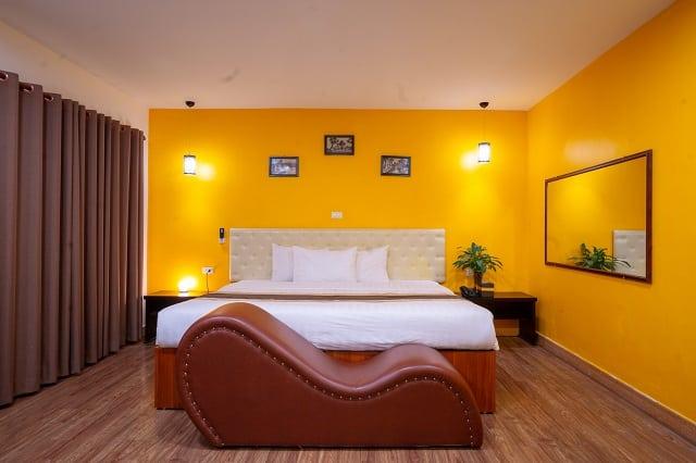 7 khách sạn có ghế tình yêu lãng mạn nhất ở Hà Nội