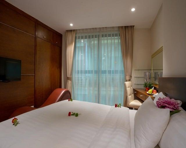 Phòng có ghế Tantra tại khách sạn My Hotel Universal Hanoi