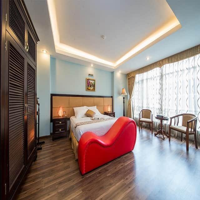 Phòng cho các cặp đôi tại My Hotel - Eiffel Hanoi