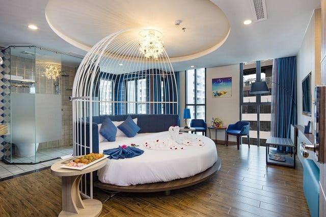 Khách sạn AAron với thiết kế phòng ngủ độc đáo