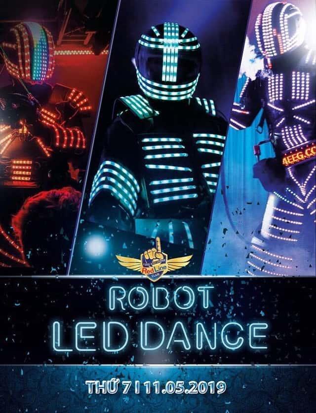 Những màn trình diễn led dance làm choáng ngộp khán giả