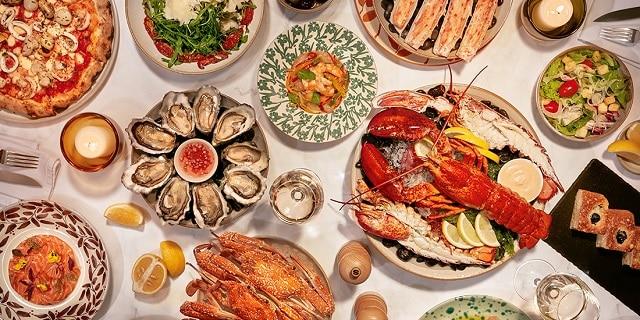 Rất nhiều hải sản tươi ngon để bạn thưởng thức
