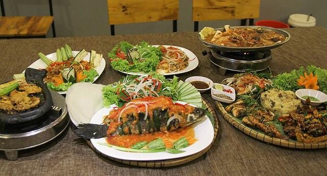 Thực đơn phong phú, hợp khẩu vị của người Châu Á