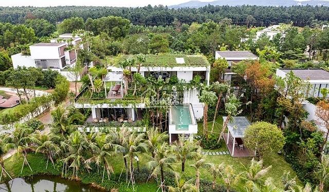 Khu nghỉ dưỡng Flamingo Đại Lải được chia thành các khu riêng biệt