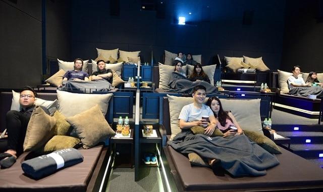 Rạp chiếu phim có giường nằm CGV L'amour