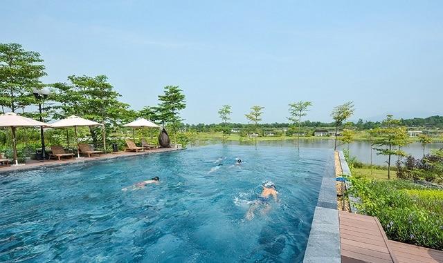 Bể bơi 4 mùaForest