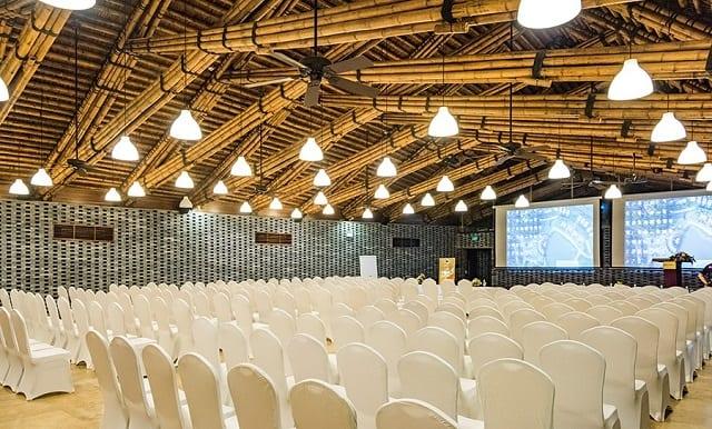 Opera Hall -công trình kiến trúc nổi tiếng nhất tại resortFlamingo Đại Lải