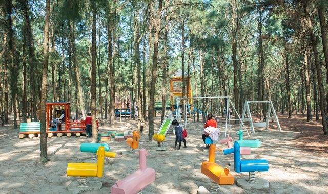 Wonder Park là công viên giải trí được các bé yêu thích