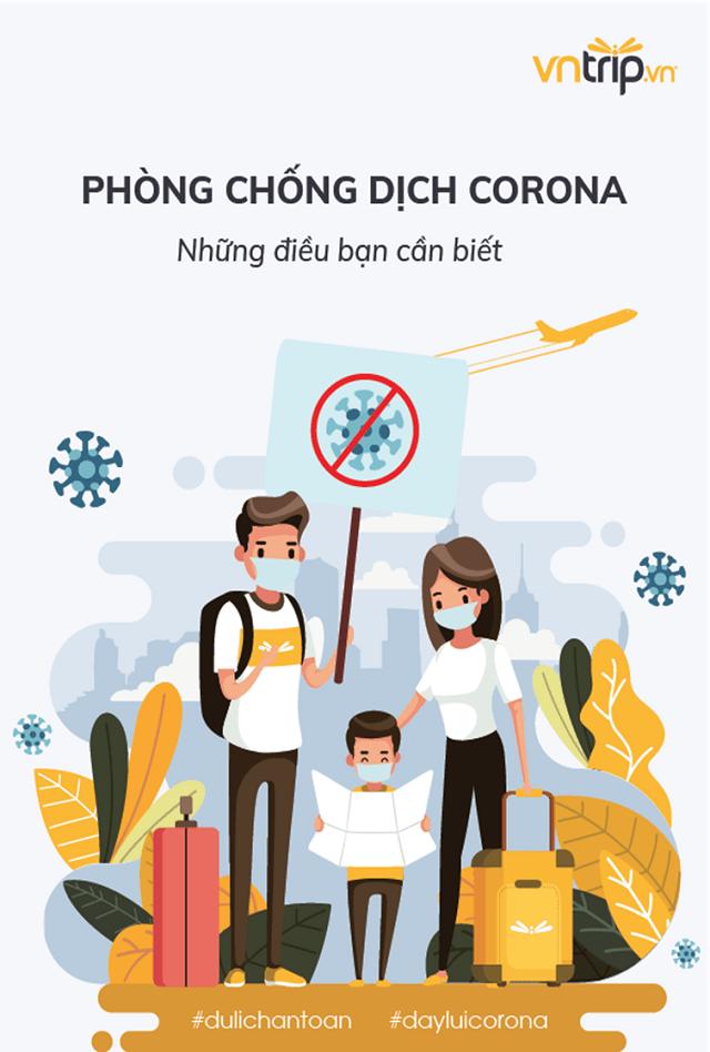 Cùng hưởng ứng an toàn du lịch mùa dịch corana cùng Vntrip nhé!