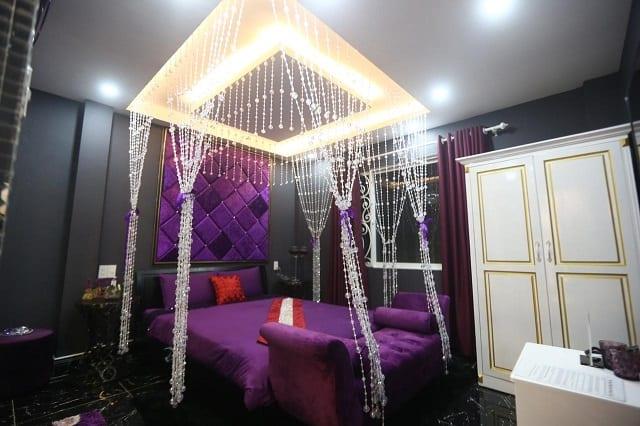 Không gian tại khách sạn Galaxy Gò Vấp được bày trí với nhiều phong cách khác nhau