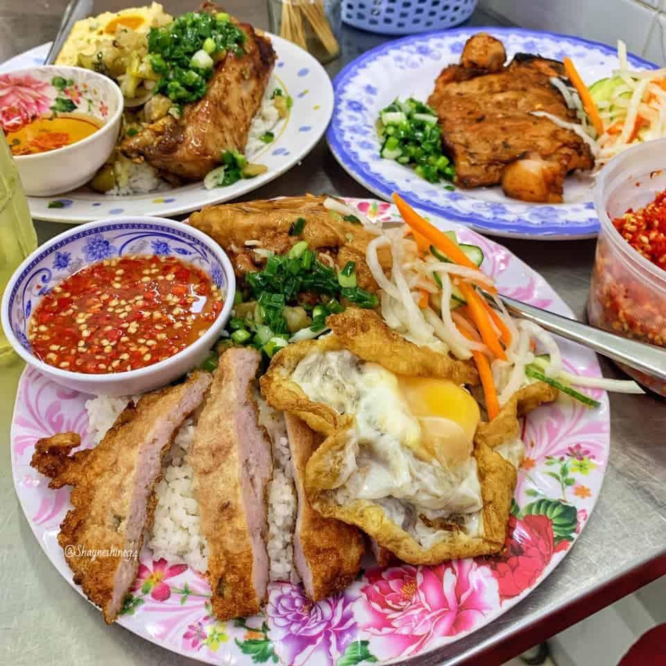 Những quán cơm tấm ngon có tiếng ở Sài Gòn