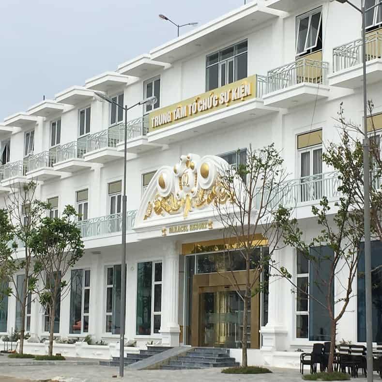 Trung tâm tổ chức sự kiện tại Paracel Resort Hải Tiến. Ảnh st