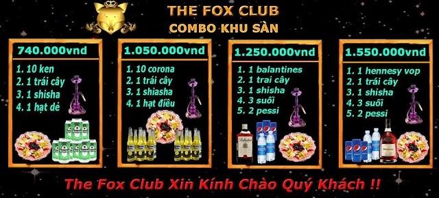 Fox Club có nhiều bất ngờ dành cho khách ghé thăm
