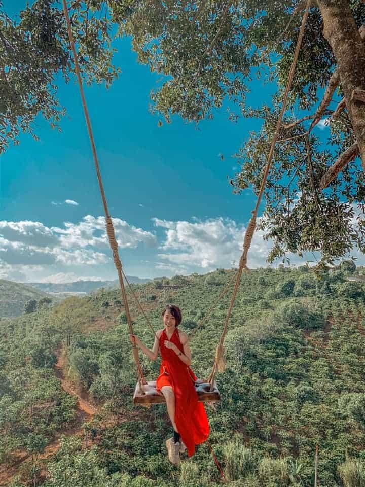 Có một Bali thu nhỏ trong lòng Đà Lạt. Ảnh: Hạnh Quyên
