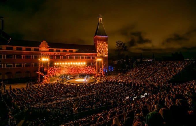 Tổ chức sân khấu ca nhạc buổi tối của ca sĩ Hà Anh Tuấn