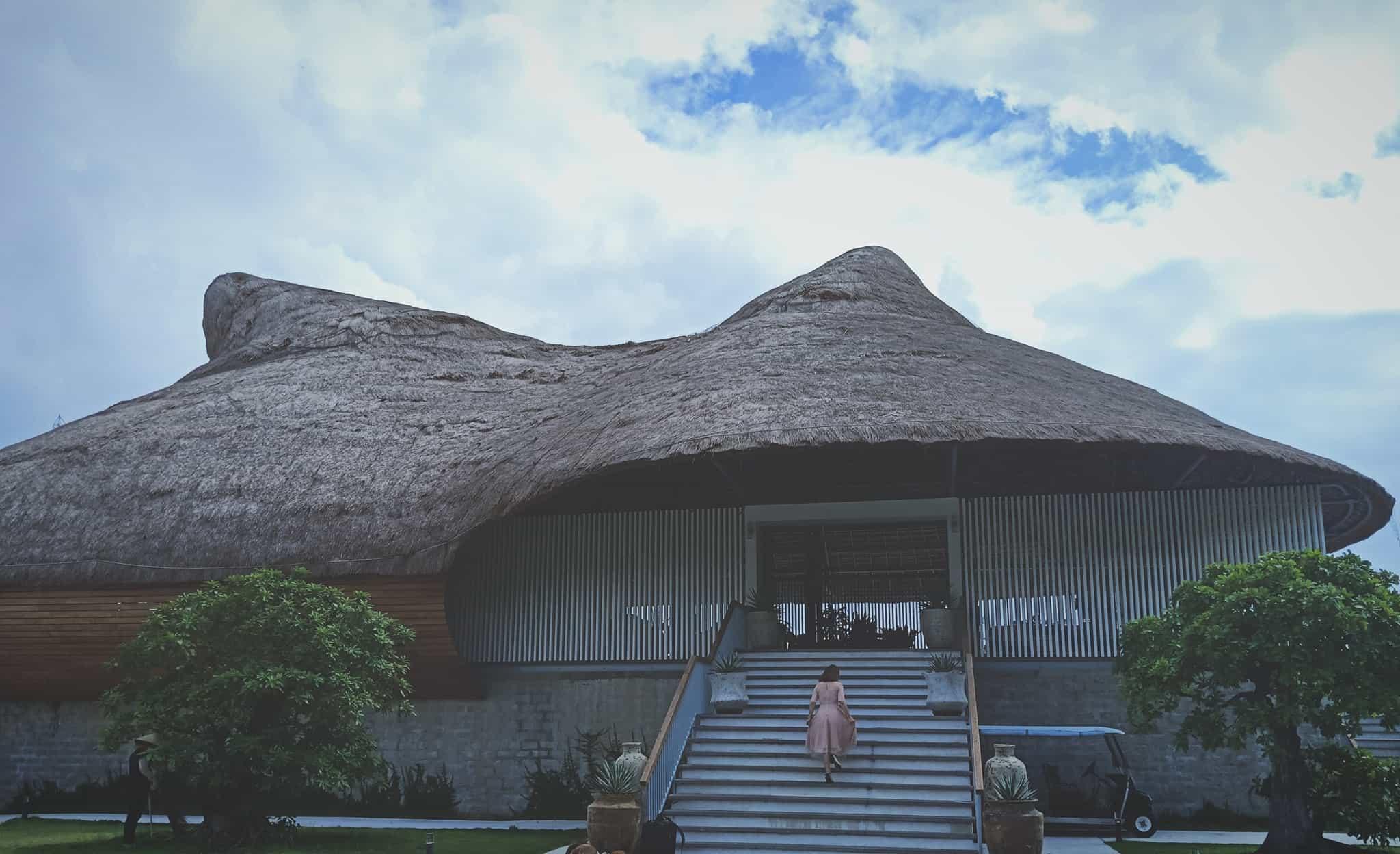 Casa Marina Resort nổi bật với thiết kế độc đáo. Hình: Sưu tầm