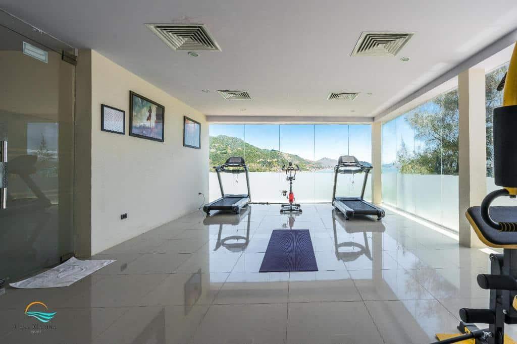 Phòng gym Casa Marina Resort. Hình: Casa Marina Resort