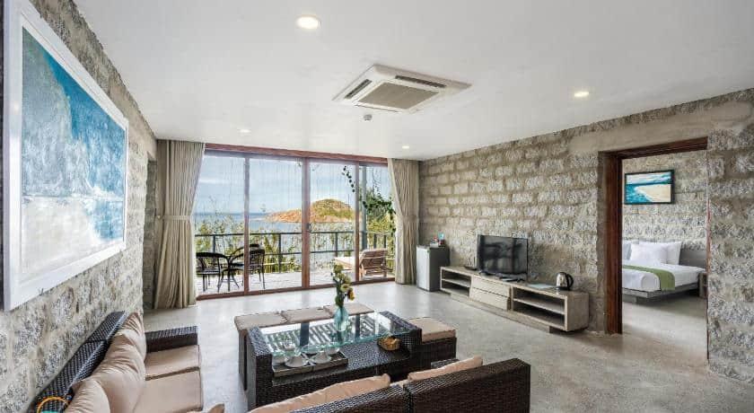 Phòng hướng biển, cho bạn thỏa thích ngắm cảnh. Hình: Casa Marina Resort