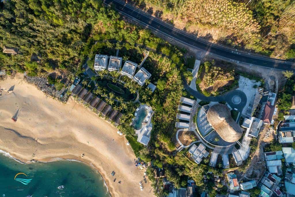 Toàn cảnh từ trên cao của Casa Marina Resort Quy Nhơn. Hình: Casa Marina Resort