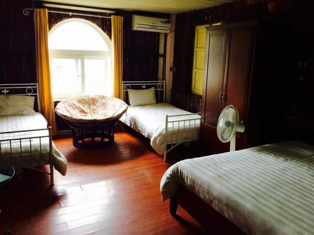 Chân Mây Hotel sở hữu các phòng nghỉ thân thiện và ấm cúng