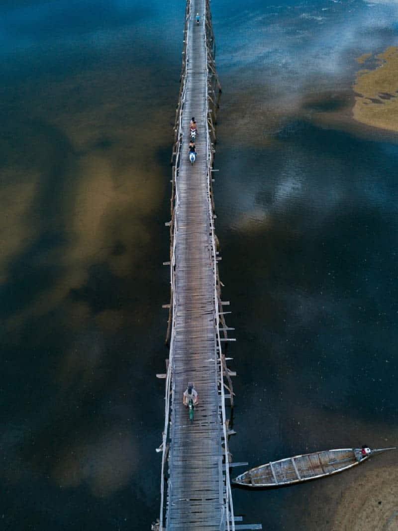 Cầu gỗ Ông Cọp Phú Yên. Hình: Cao Kỳ Nhân