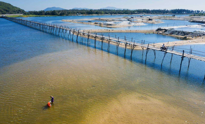 Khung cảnh tuyệt đẹp của cầu gỗ Ông Cọp. Hình: Cao Kỳ Nhân