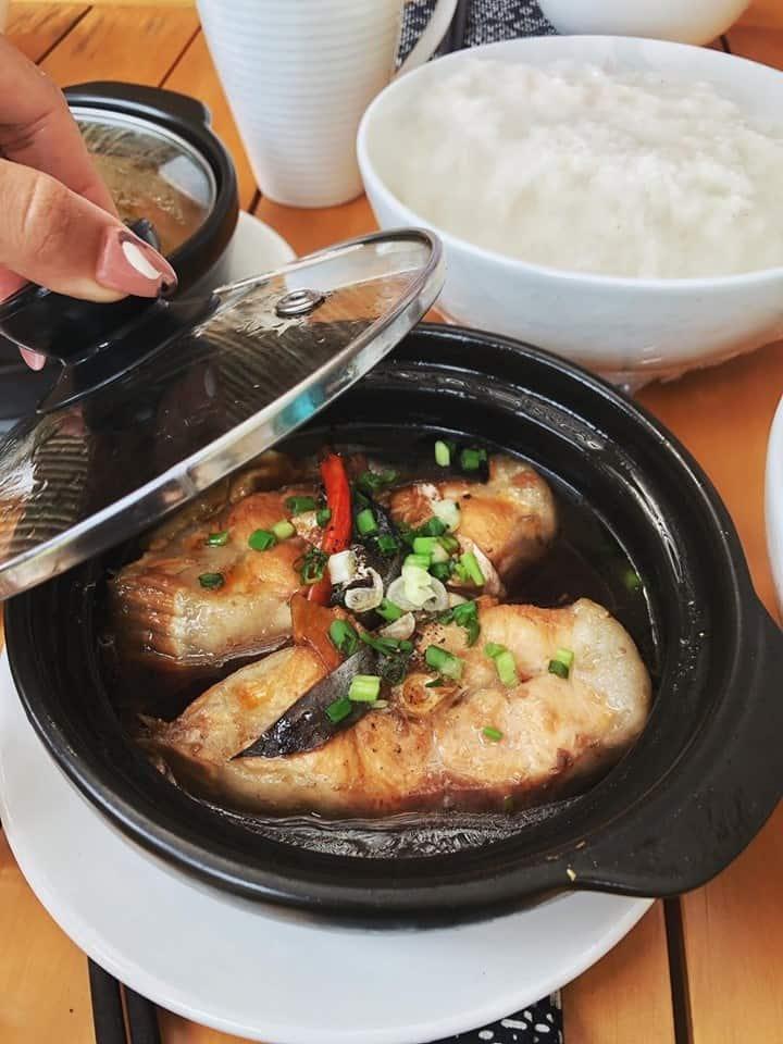 Toàn bộ thức ăn được chuẩn bị khi khách yêu cầu chứ không chuẩn bị sẵn. Hình: Cao Doan Lunar