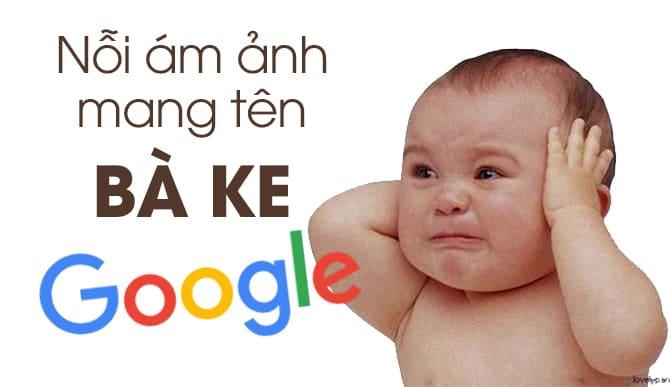 Thông qua giọng nói của google đã khiến nhiều đứa bé nghịch ngợm phải khóc thét