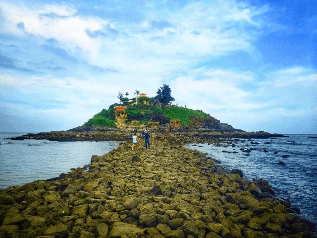 Con đường xuyên biển - Cảnh tượng thiên nhiên kỳ lạ ở Vũng Tàu