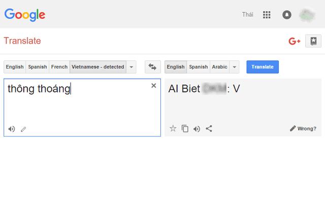 """Ai biết nghĩa tiếng Anh của từ """"Thông thoáng"""" giải đáp hộ dùm chị Google với, hệ thống quá tải dịch không kịp!"""